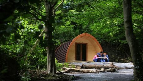 Castle Ward Camping Pods